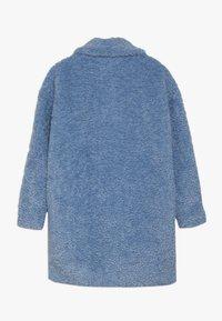 Grunt - TEDDY JACKET - Winter coat - light blue - 1