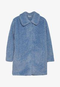 Grunt - TEDDY JACKET - Winter coat - light blue - 2