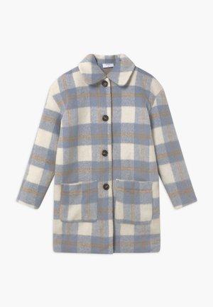 BOUCLE - Zimní kabát - blue check