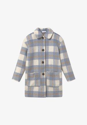 BOUCLE - Płaszcz wełniany /Płaszcz klasyczny - blue check