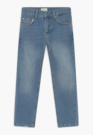 CLINT WORN - Džíny Slim Fit - worn blue