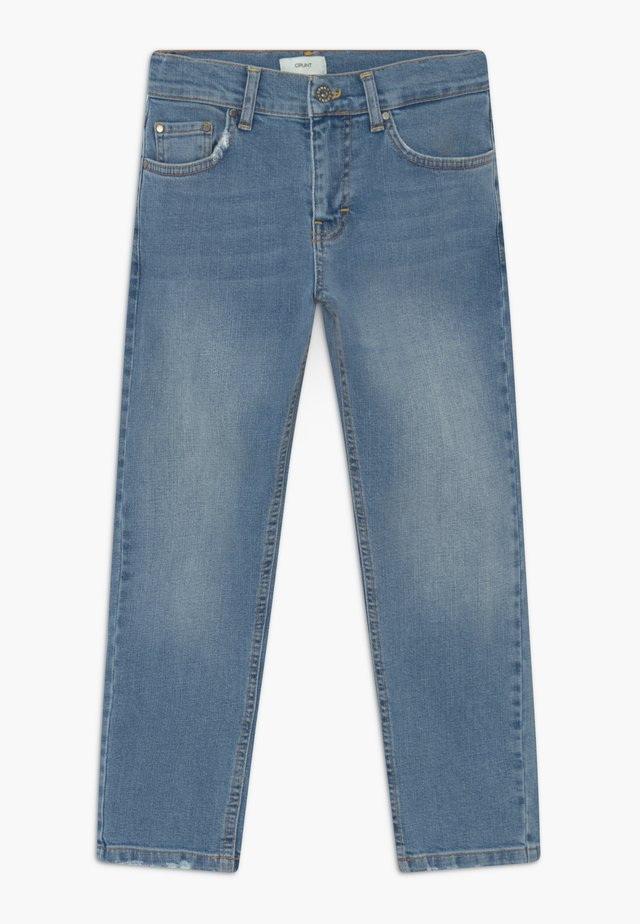 CLINT WORN - Jeans slim fit - worn blue