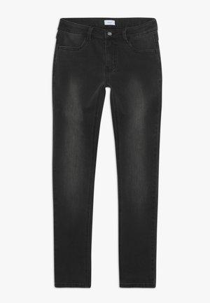 PAINT ON - Jean slim - dark grey