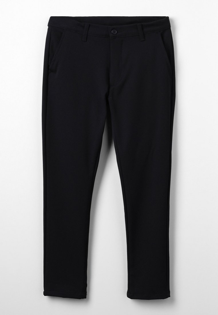 Grunt - DUDE ANKLE - Chino kalhoty - black