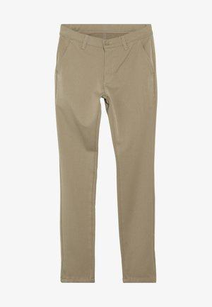 DUDE PANT - Oblekové kalhoty - khaki