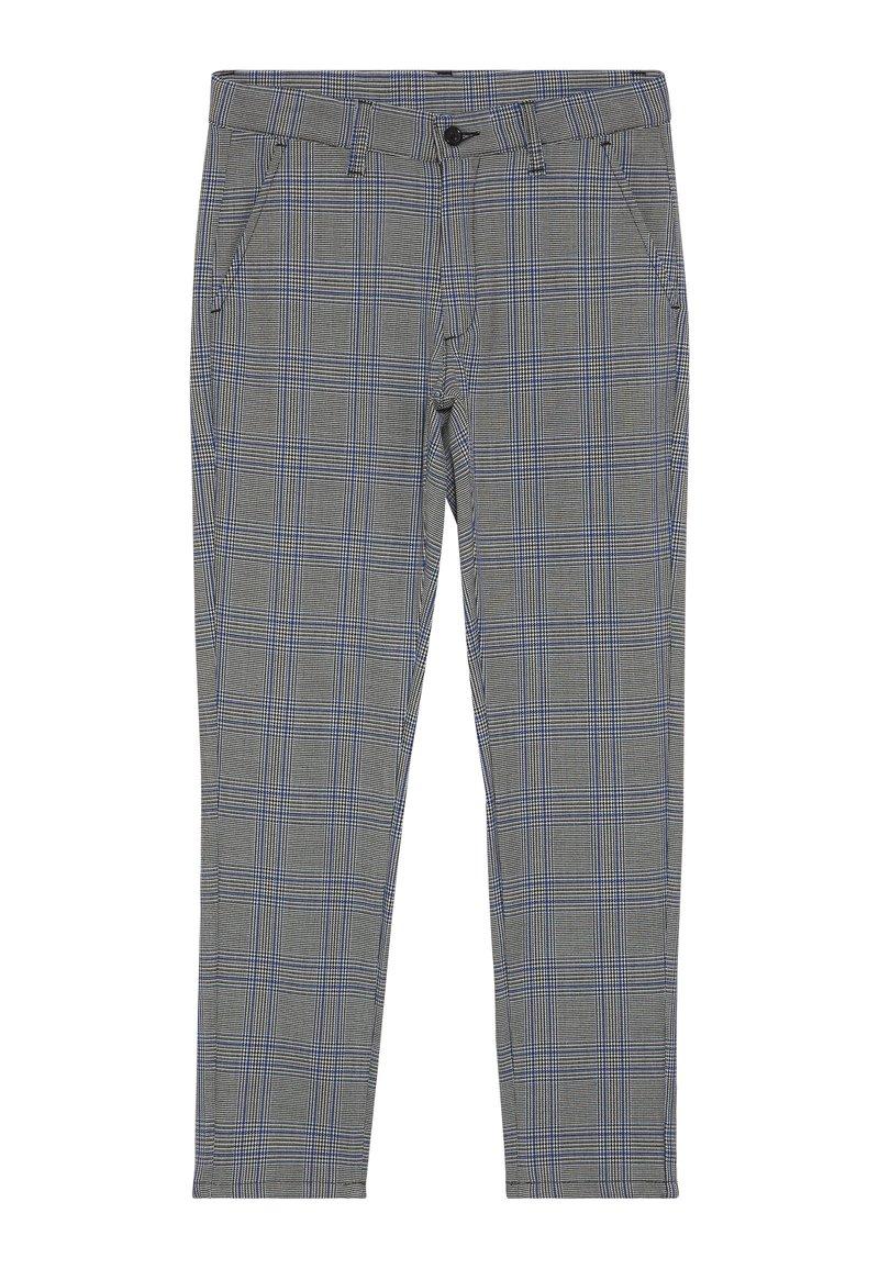 Grunt - DUDE CHECK - Pantalon - blue