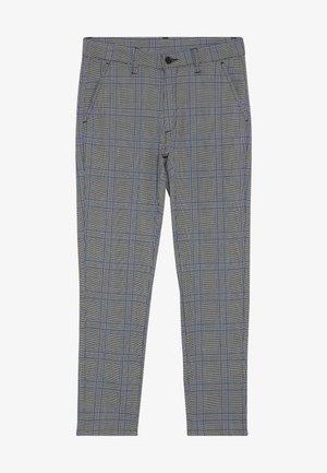 DUDE CHECK - Pantaloni eleganti - blue