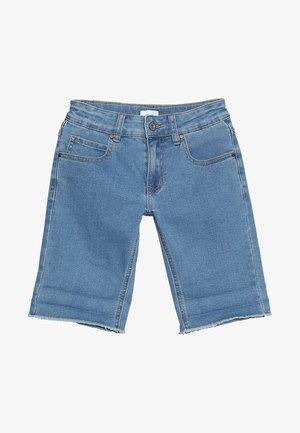 SPACE - Denim shorts - ice blue denim