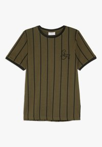 Grunt - NIKOLAJ TEE - Camiseta estampada - army green - 0