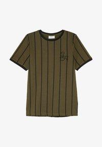 Grunt - NIKOLAJ TEE - Camiseta estampada - army green - 2
