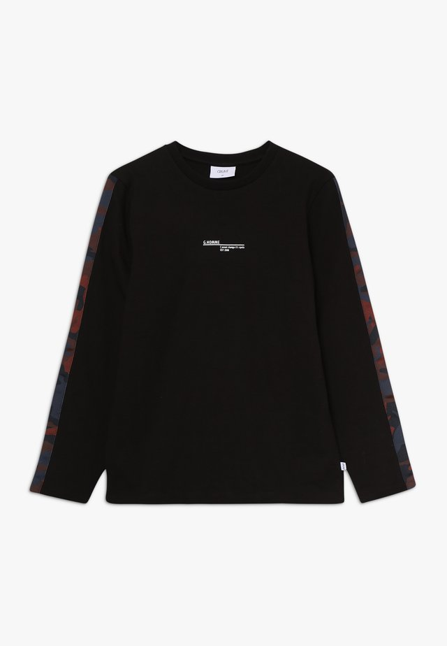 KNOX TEE - Long sleeved top - black