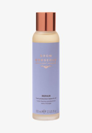 GROW GORGEOUS REPAIR HEAT PROTECTION LEAVE-IN OIL  - Hårpleje - -