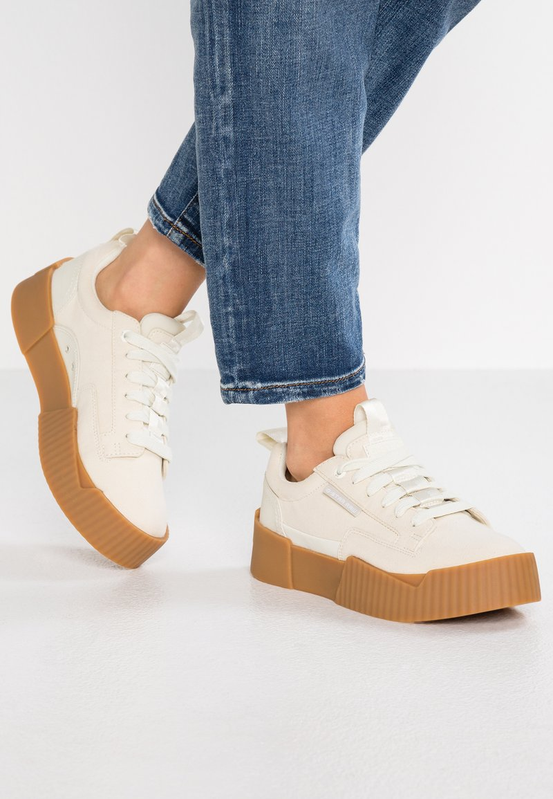 G-Star - RACKAM CORE WMN - Sneakers basse - porcelain
