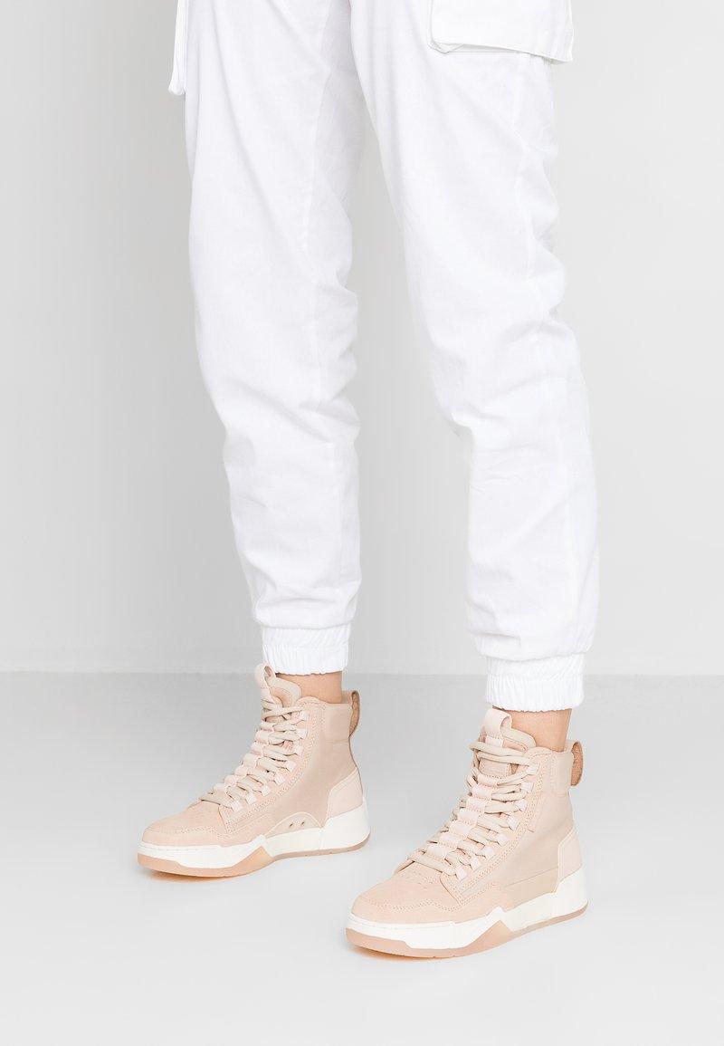 G-Star - RACKAM YARD MID - Sneakers high - liquid pink