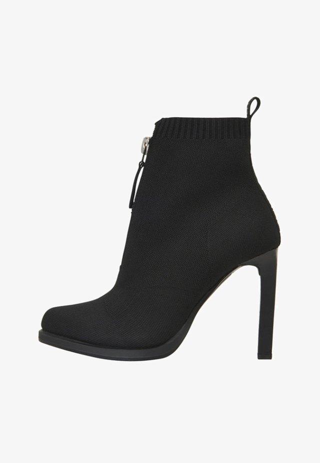 STRETT HEEL  - High heeled ankle boots - black