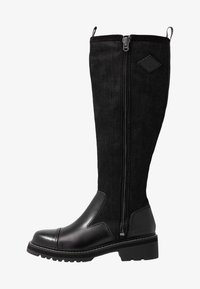 G-Star - MINOR ZIP BOOT HIGH - Vysoká obuv - black - 1