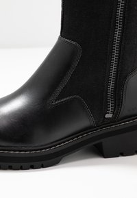 G-Star - MINOR ZIP BOOT HIGH - Vysoká obuv - black - 2