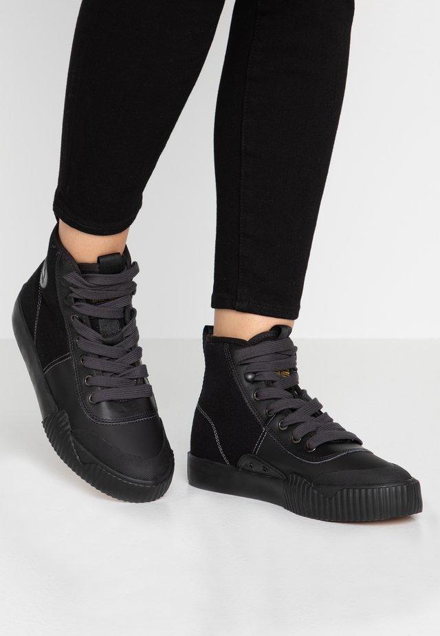 PARTA MID - Baskets montantes - black