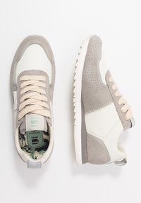 G-Star - VIN RUNNER - Sneakersy niskie - light grey/milk - 3