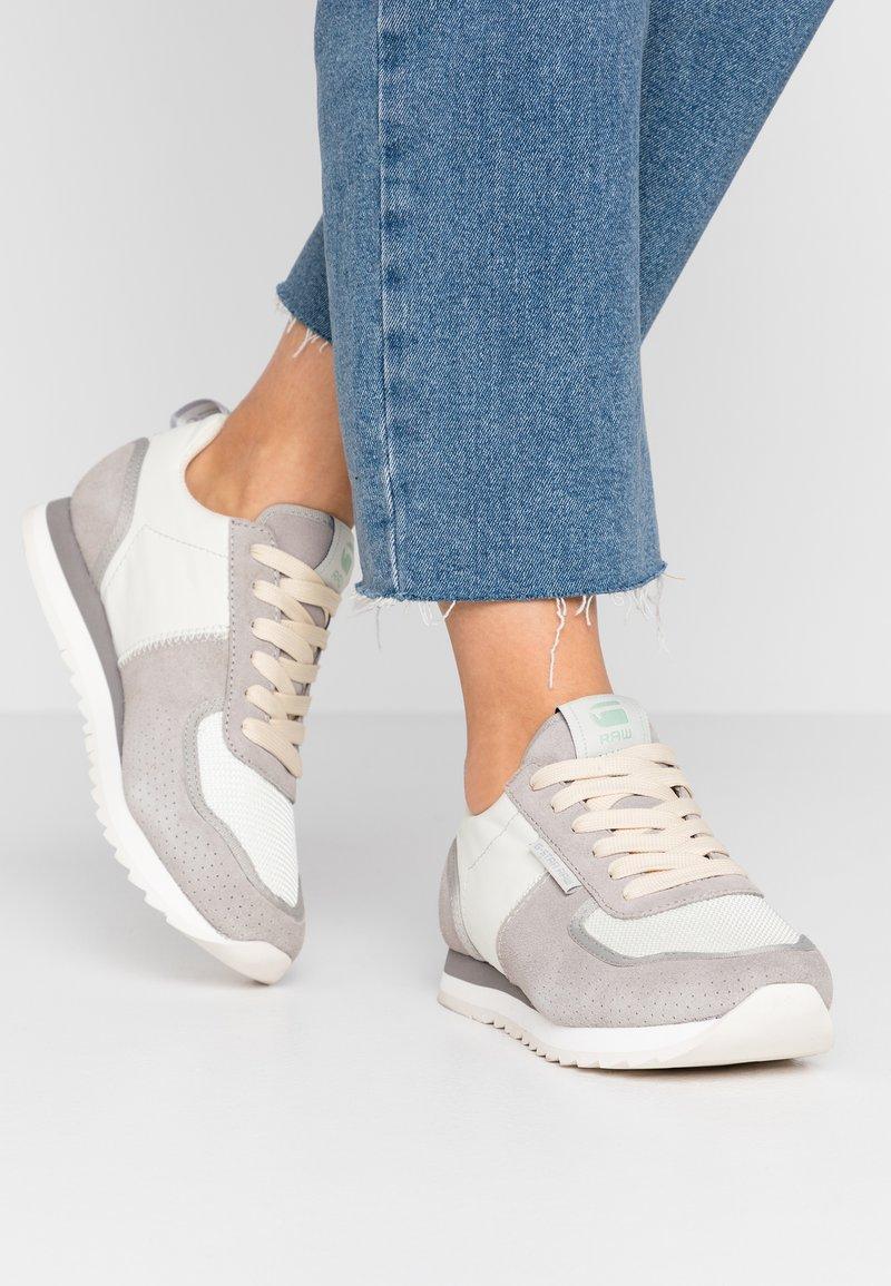 G-Star - VIN RUNNER - Sneakersy niskie - light grey/milk