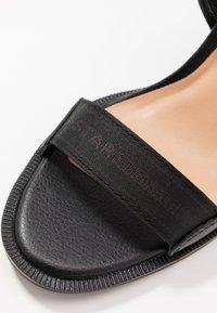 G-Star - NAVIK - Sandales à talons hauts - black - 2