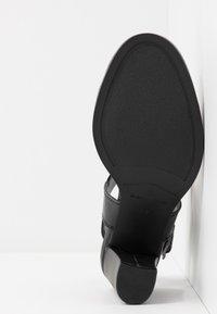G-Star - NAVIK - Sandales à talons hauts - black - 6