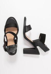G-Star - NAVIK - Sandales à talons hauts - black - 3