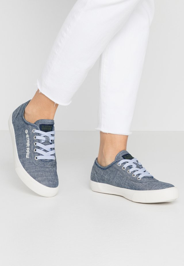 VELV DENIM - Baskets basses - blue