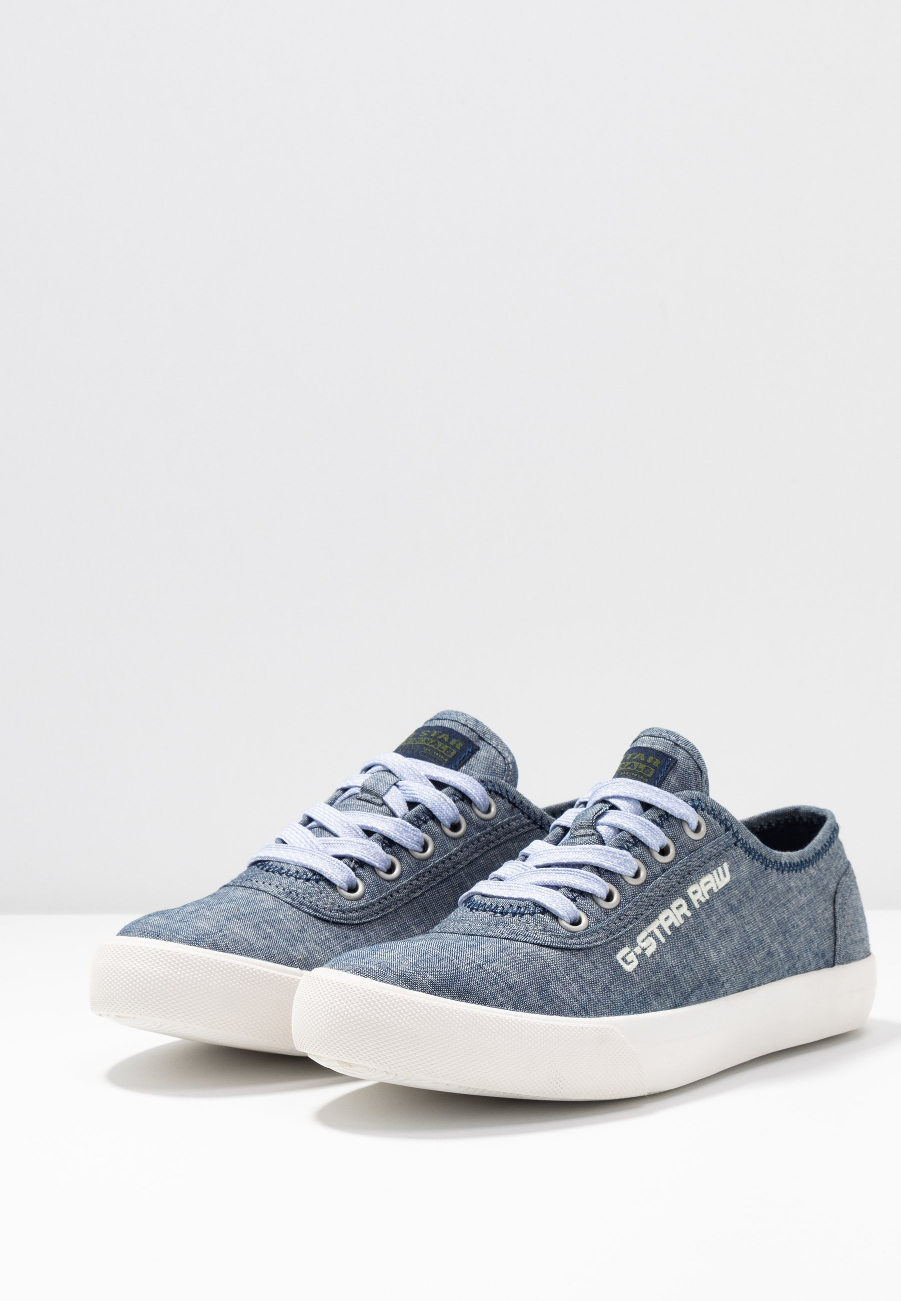 G-Star VELV DENIM - Joggesko - blue