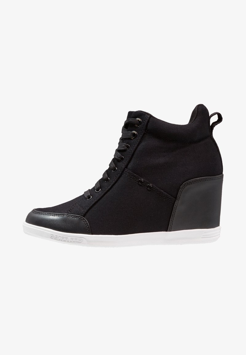 G-Star - NEW LABOUR WEDGE - High-top trainers - black