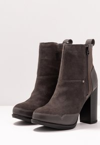 G-Star - LABOUR ZIP BOOT - High heeled ankle boots - rover - 4