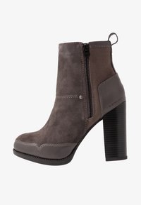 G-Star - LABOUR ZIP BOOT - High heeled ankle boots - rover - 1