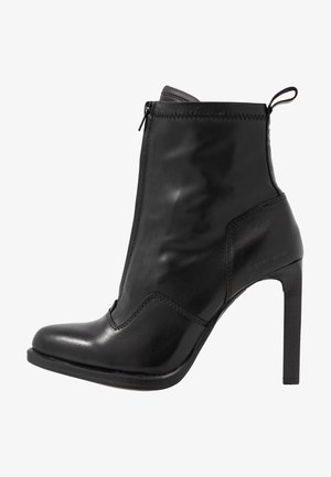 STRETT HEEL - High heeled ankle boots - black