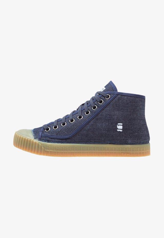 ROVULC ROEL MID - Sneakersy wysokie - dark navy