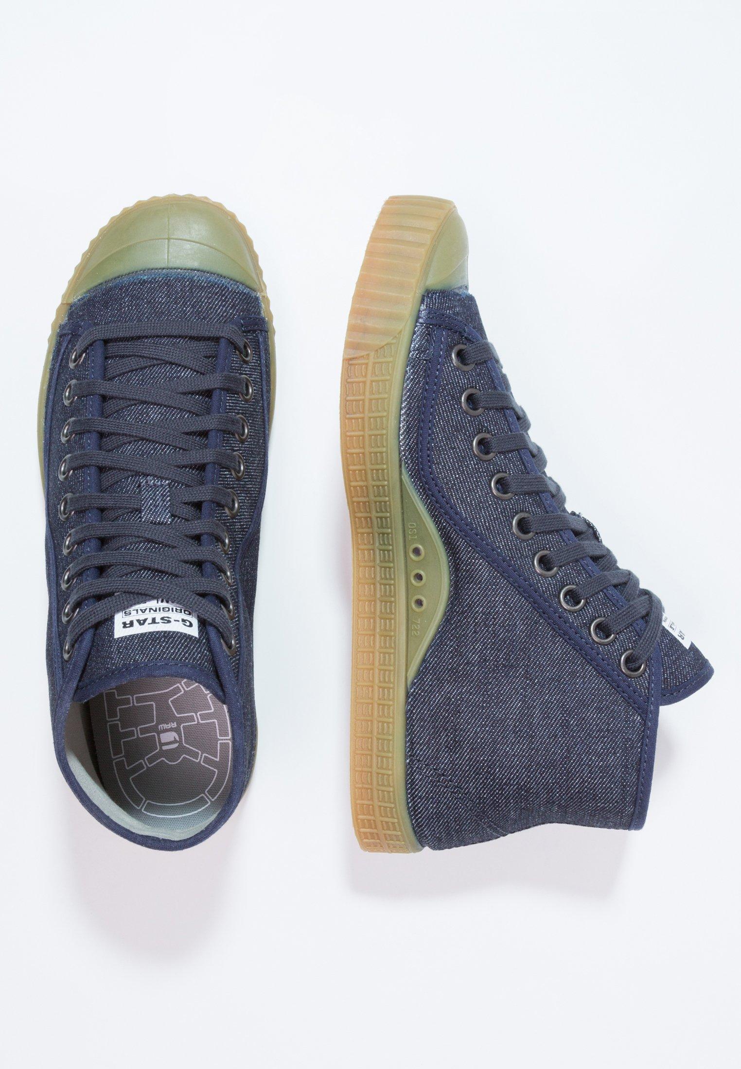 G-star Rovulc Roel Mid - Höga Sneakers Dark Navy