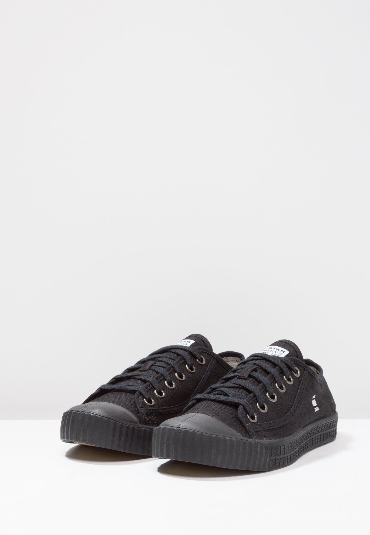 G-Star ROVULC HB LOW - Sneakers - black