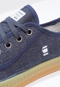 G-Star - ROVULC ROEL LOW - Sneaker low - dark navy - 5