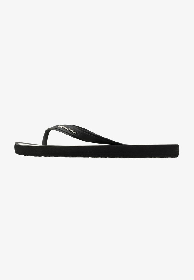 DEND - Tongs - black/white
