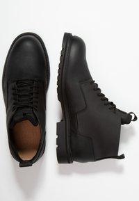 G-Star - CORE DERBY BOOT II - Šněrovací kotníkové boty - black - 1
