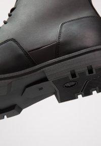 G-Star - CORE DERBY BOOT II - Šněrovací kotníkové boty - black - 5