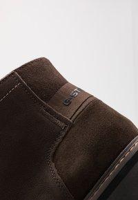G-Star - GARBER DERBY BOOT - Veterboots - dark brown - 5