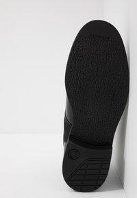 G-Star - GARBER DERBY BOOT - Snörstövletter - black - 4