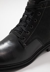 G-Star - GARBER DERBY BOOT - Lace-up ankle boots - black - 5