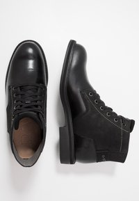 G-Star - GARBER DERBY BOOT - Lace-up ankle boots - black - 1