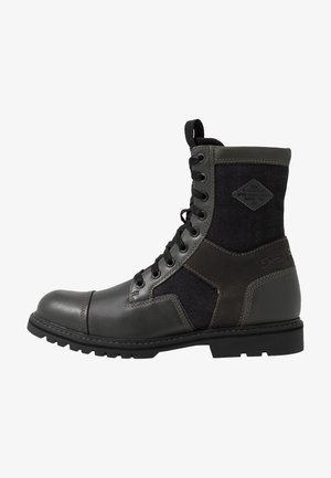 TENDRIC BOOT - Bottines à lacets - rover/black