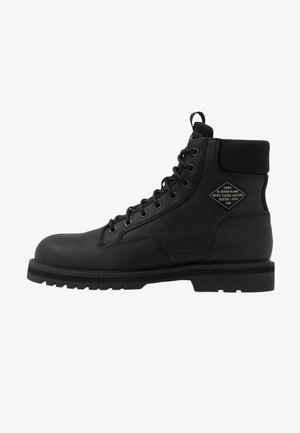 PREMIUMPOWELL BOOT - Lace-up ankle boots - black