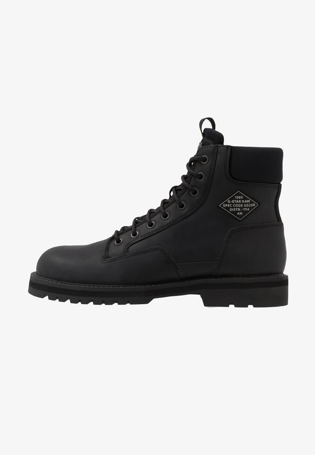 PREMIUMPOWELL BOOT - Bottines à lacets - black