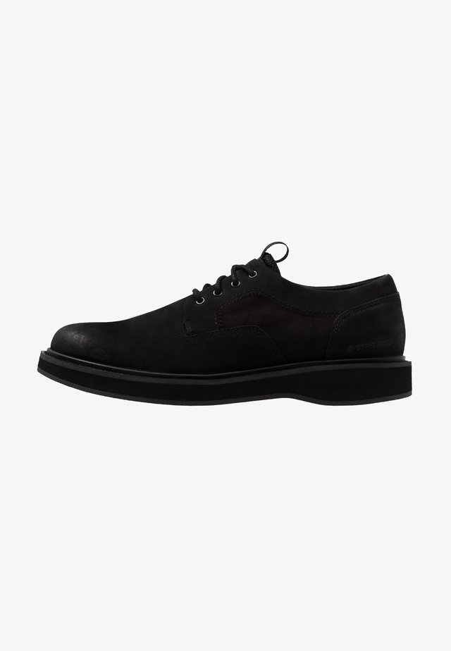 LANDOH DERBY LTH - Casual lace-ups - black