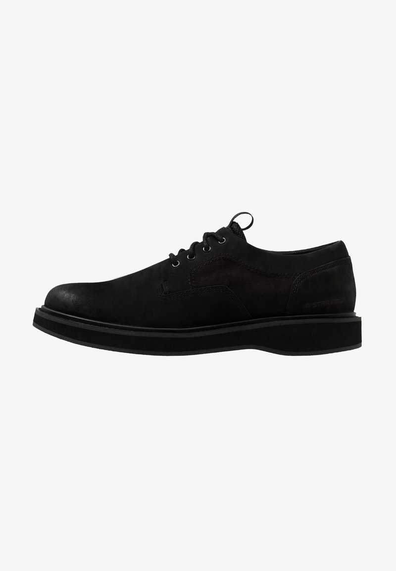 G-Star - LANDOH DERBY LTH - Casual lace-ups - black