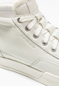 G-Star - RACKAM CORE MID - Sneakers hoog - white